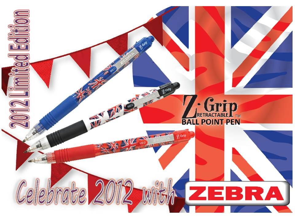 Zebra Z-Grip cheetah print Funky Animal Ballpoint Ball Pen 1.0mm