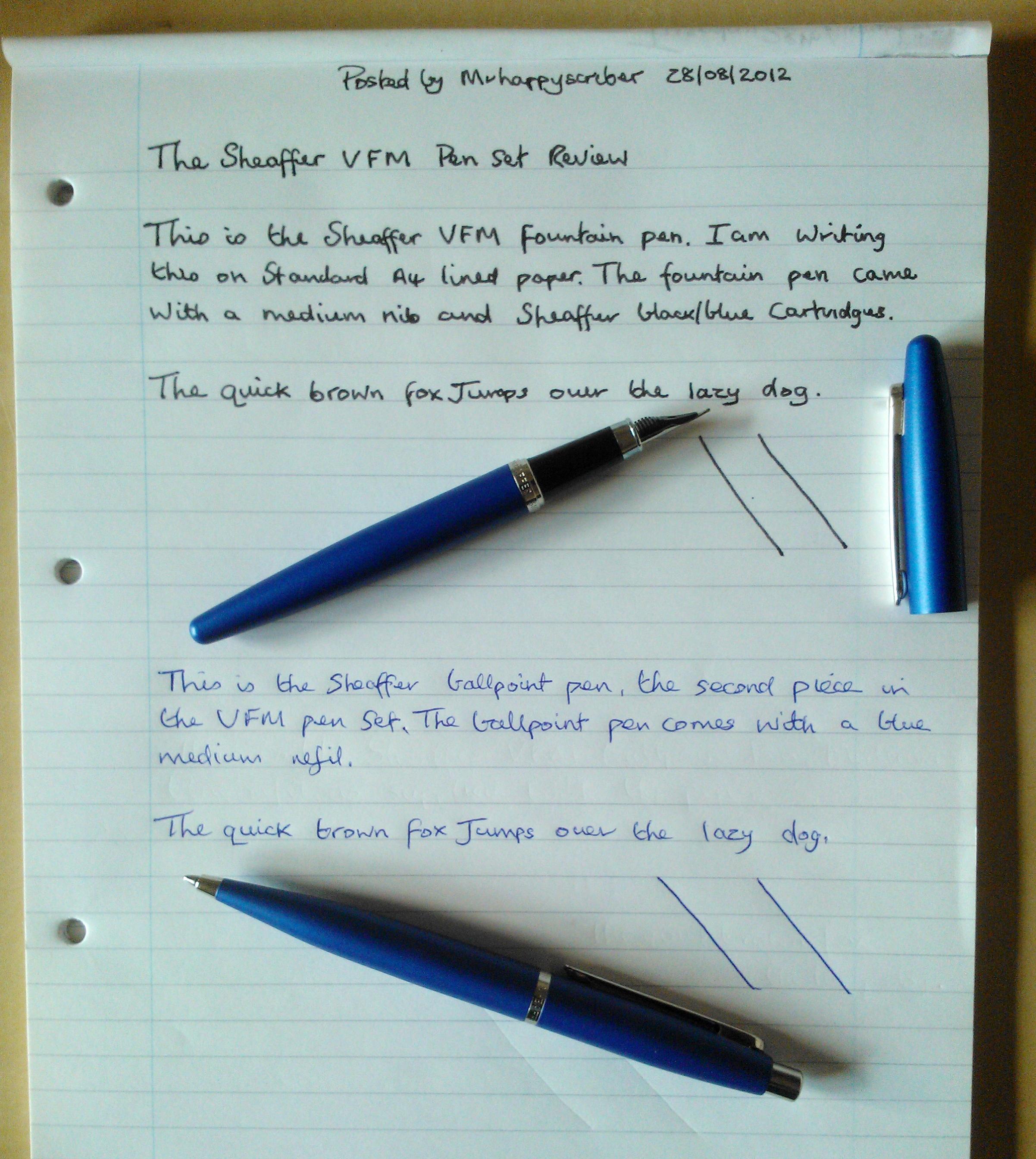 Pens sheaffer ink Sheaffer Fountain