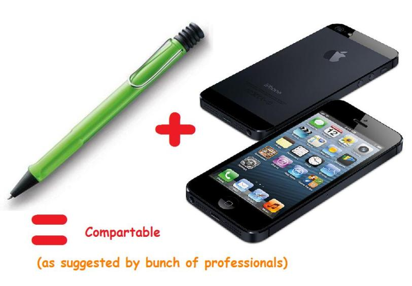Non-sense Lamy + Apple = Compartable