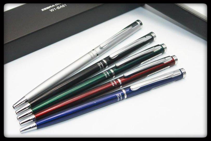 Zebra fortia 500 slim twist ballpoint pens