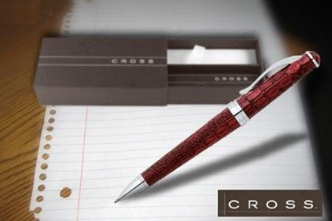 cross-crocodile-red-ballpoint-pen