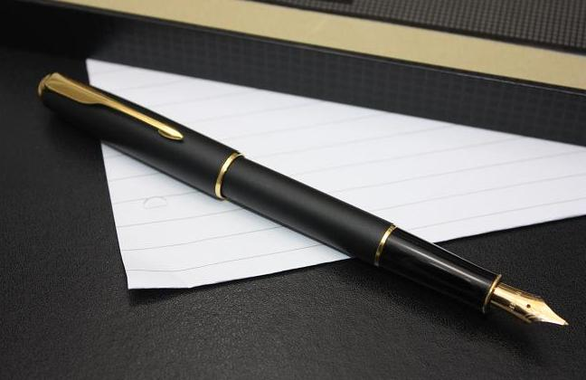 Parker-Sonnet-Matte-Black-GT-Fountain-Pen-1994-2003